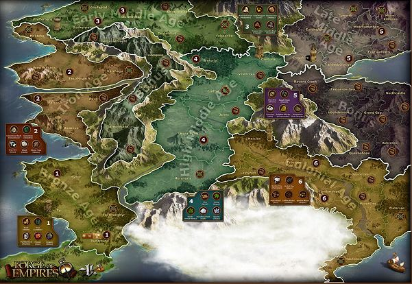 Forge of Empires World Map 1