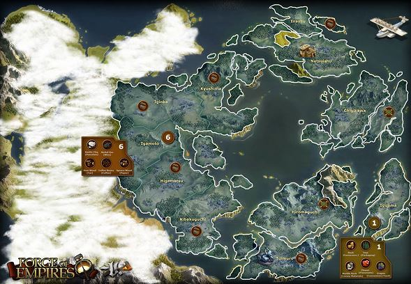 Forge of Empires World Map 4