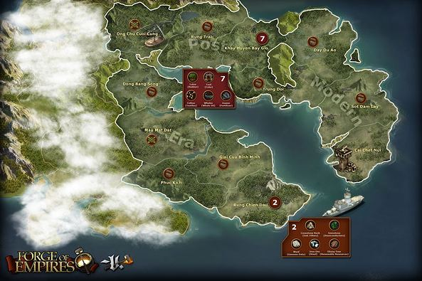 Forge of Empires World Map 5