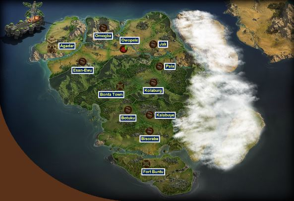 Forge of Empires World Map 8