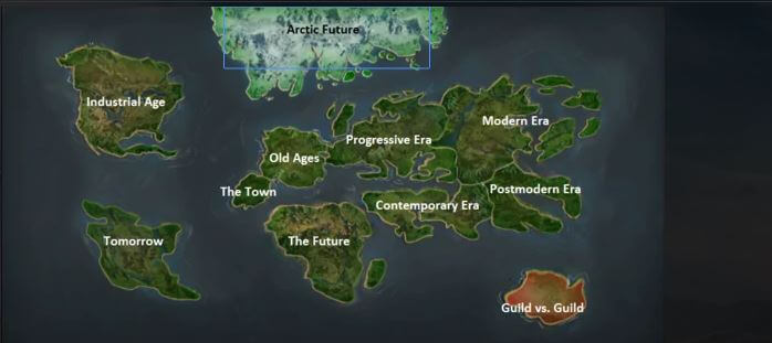 Forge of Empires Maps