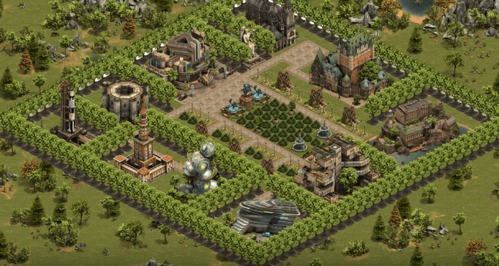 Forge of Empires City Defense