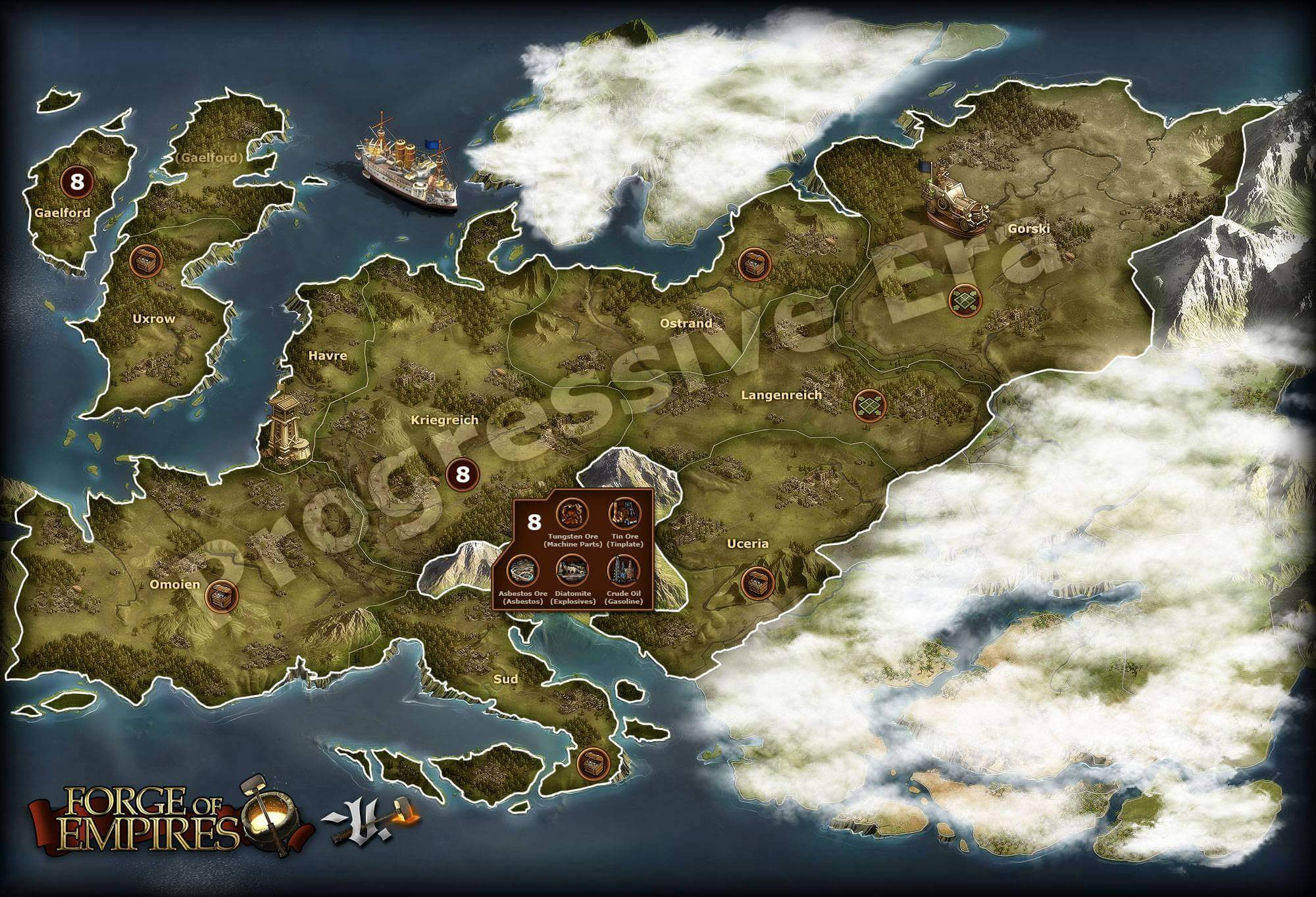 Forge of Empires Progressive Era
