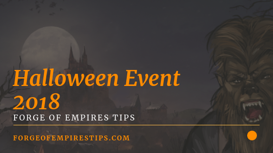 Forge of Empires Halloween Event 2018