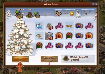 Forge of Empires Winter Event 2018