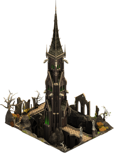 Forge of Empires Halloween Event Black Tower