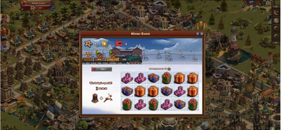 Forge of Empires Winter Event 2019