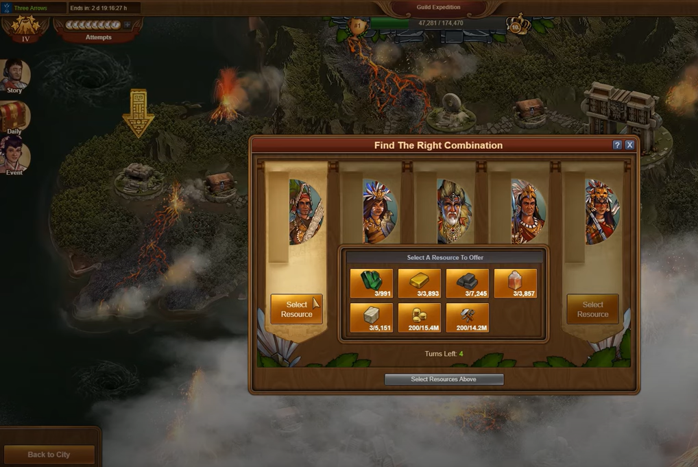 Forge of Empires Guild Expedition Level 4