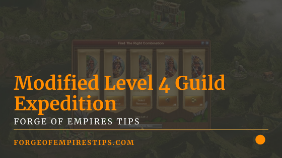Modified Level 4 Guild Expedition