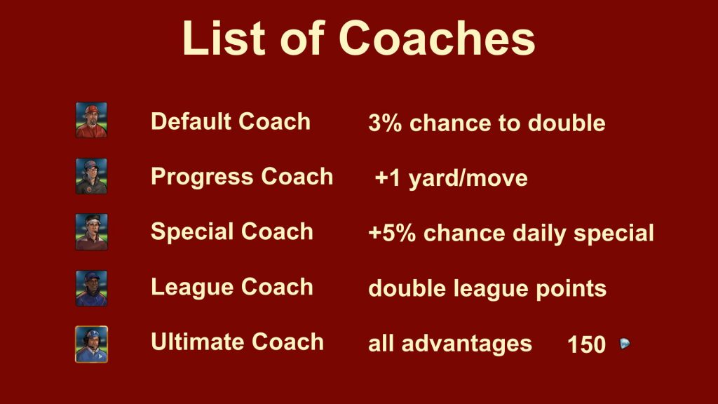 Forge of Empires Bowl Event Coaches