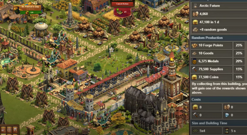 Forge of Empires St Patricks Day Event 2021