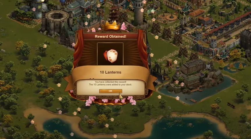 Forge of Empires Spring Event 2021